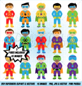 Boy Superhero Clipart Clip Art, Boy Superheroes Clip Art Clipart.