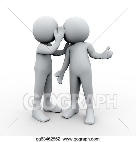 Whisper clipart last person, Whisper last person Transparent.