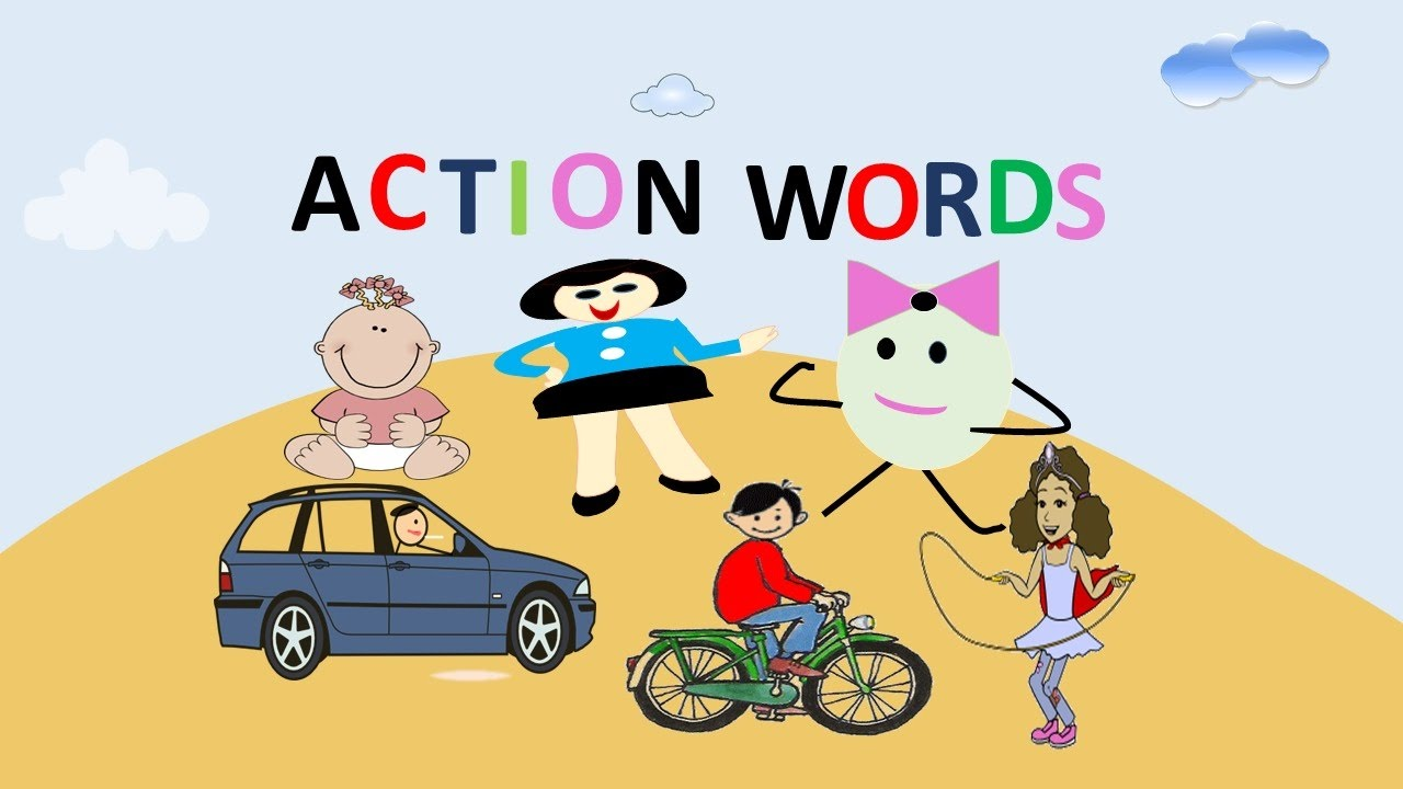 ACTION WORDS FOR KIDS.