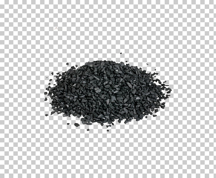 Bamboo charcoal Adsorption Activated carbon, A pile of.