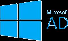 Microsoft Active Directory logo.