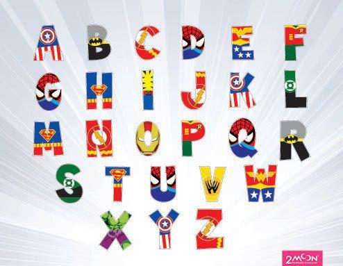 17 best ideas about Superhero Alphabet on Pinterest.