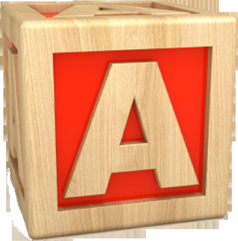 Active Letter A Clipart.