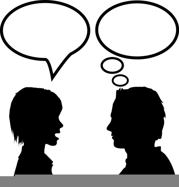 Active Listening Clipart.