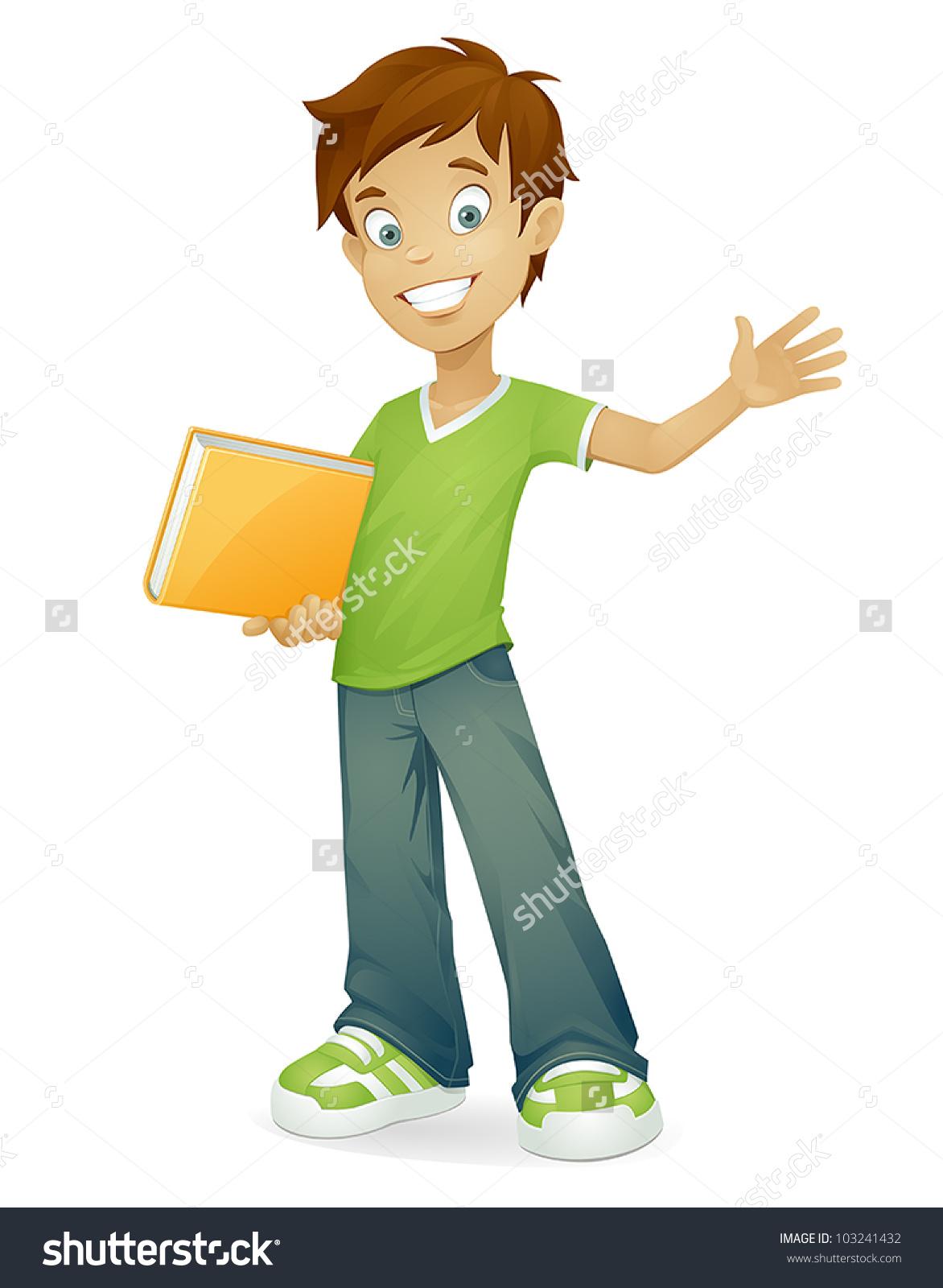 Showing post & media for Middle school boy cartoon.