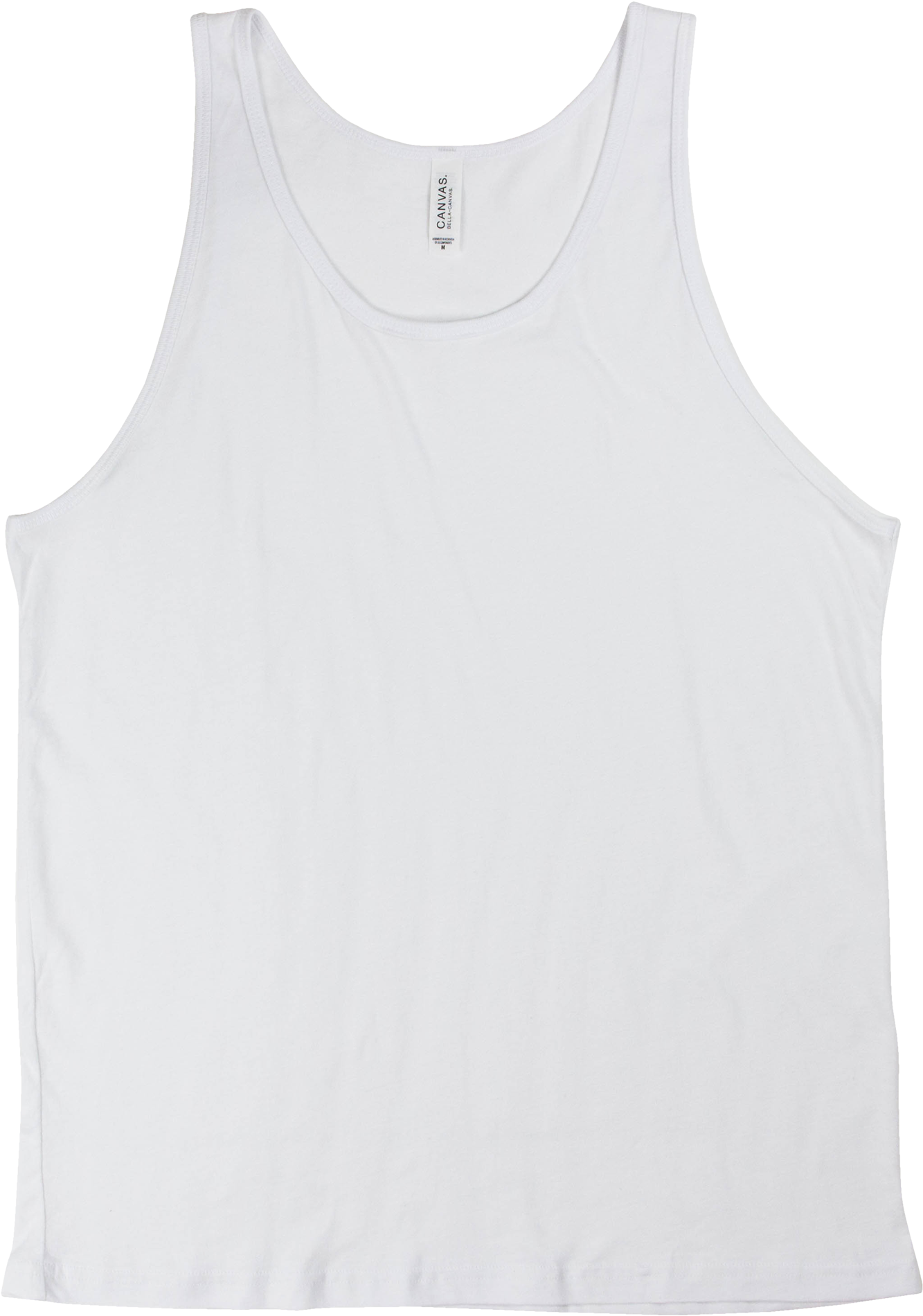 White Tank Top Png.