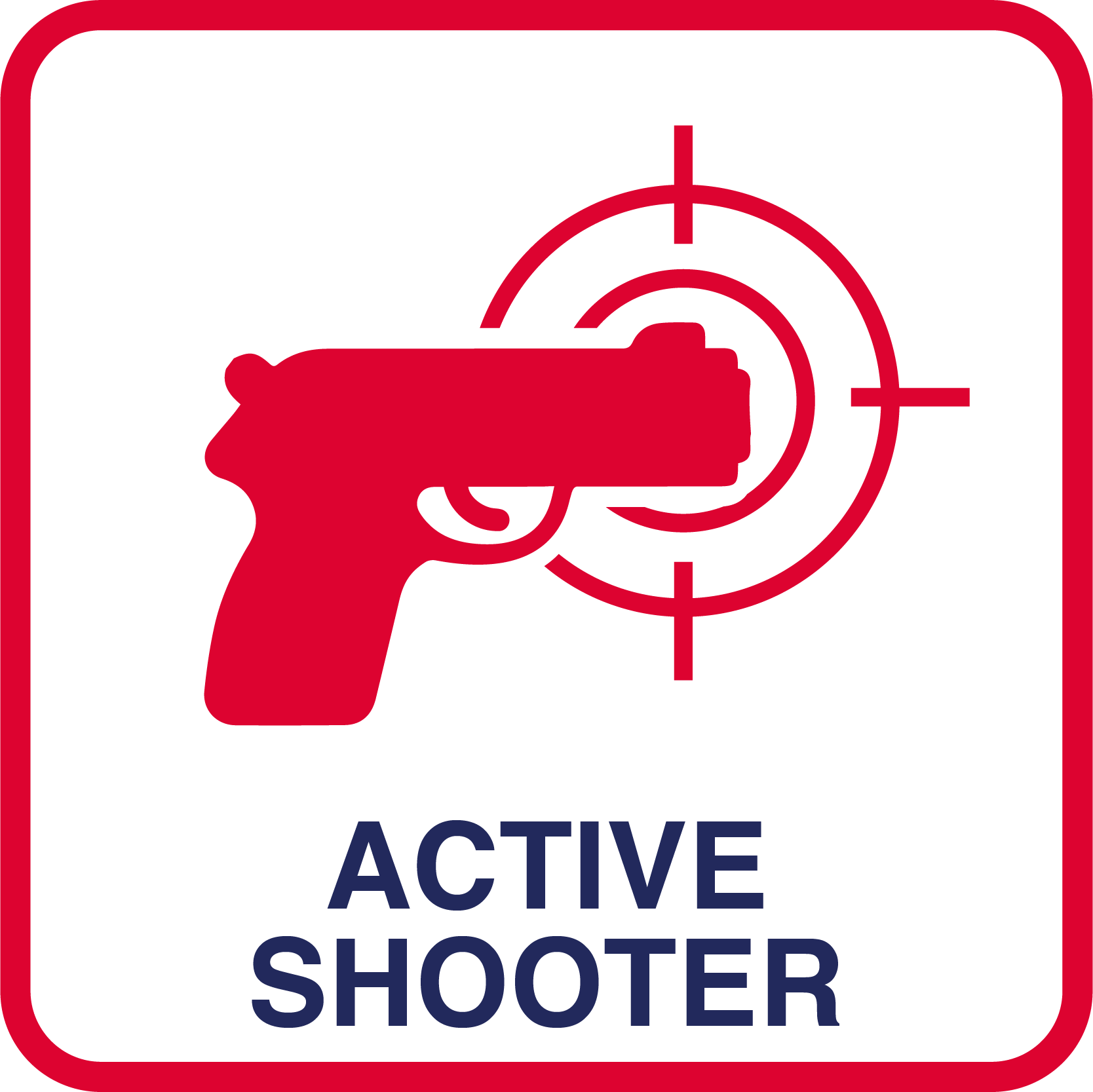 Active Threat or Shooter.