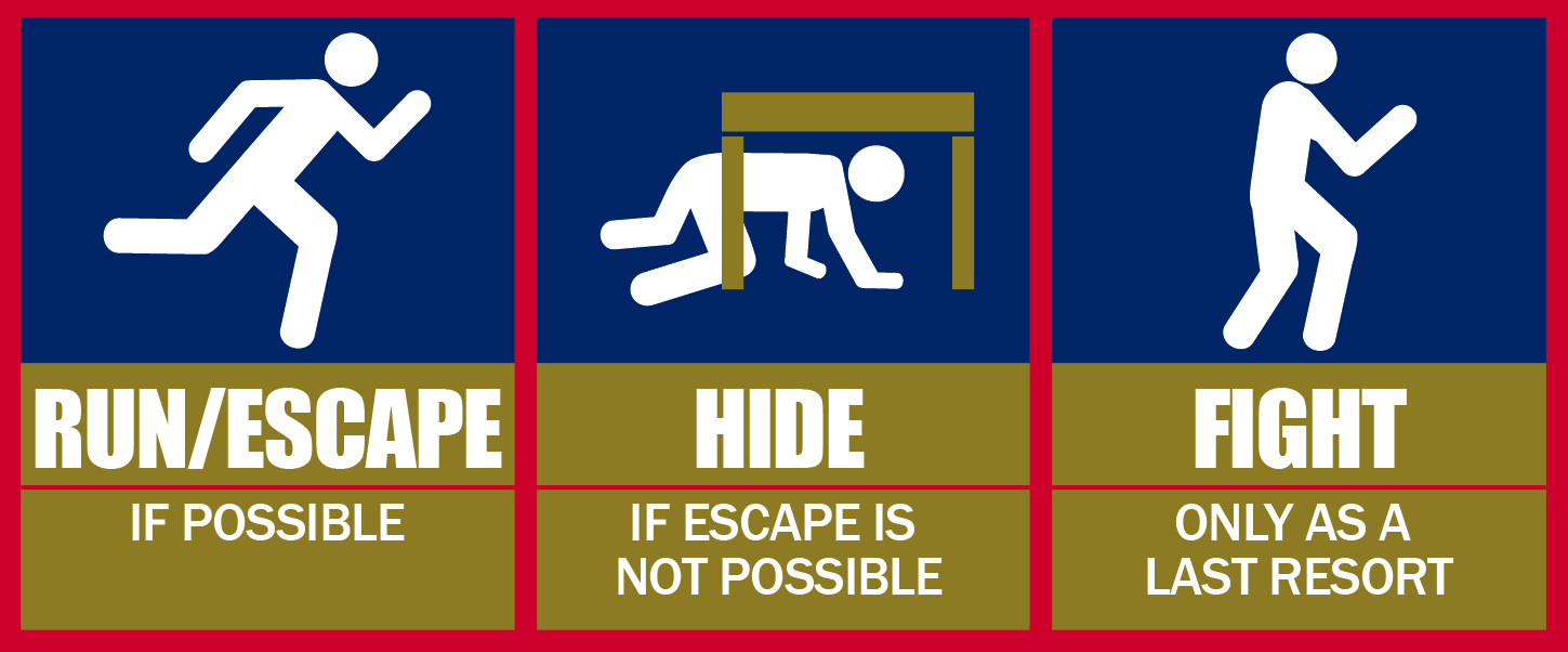 Active Shooter Clipart.