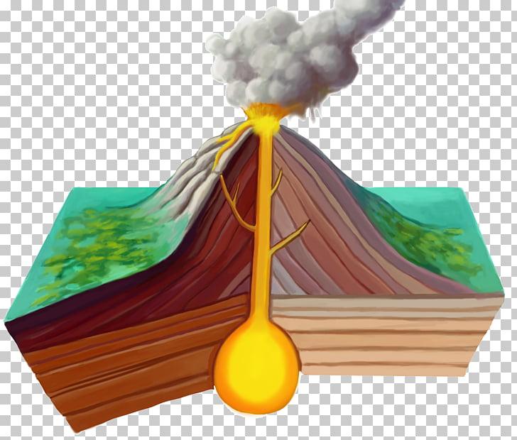 Volcano Eruption of Mount Vesuvius in 79 Lava Earthquake.