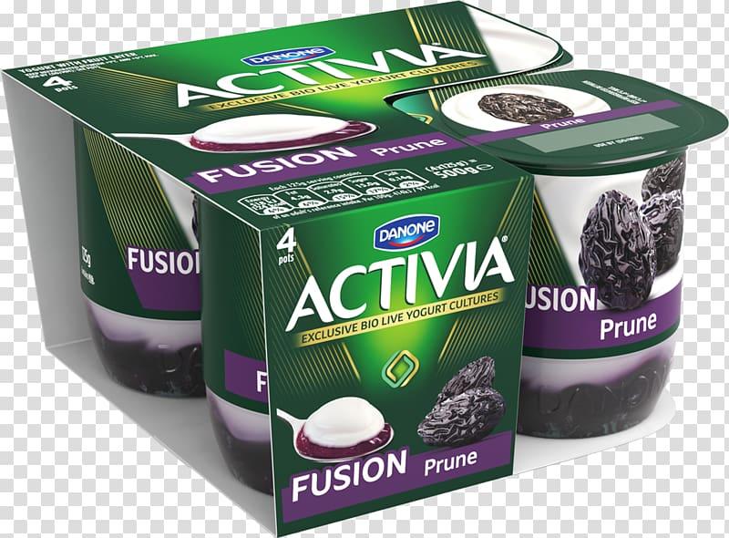 Milk Flavor Activia Yoghurt Greek yogurt, milk transparent.