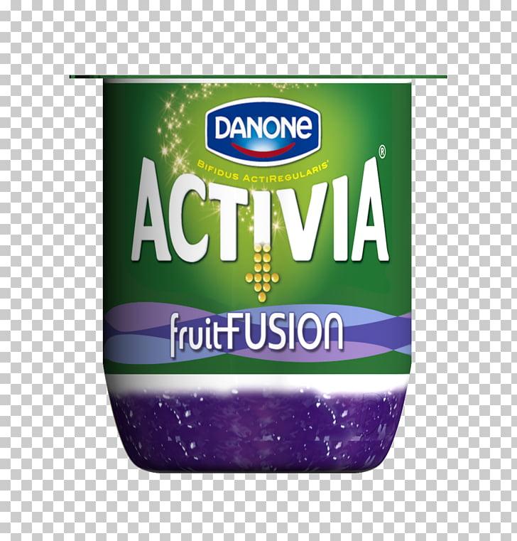 Activia Yoghurt Danone Milk Flavor, Fruit yogurt PNG clipart.