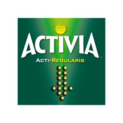 Activia logo vector.