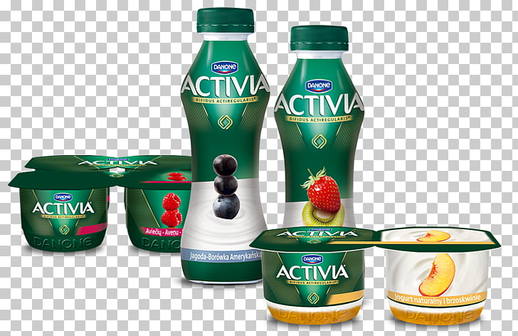 Kefir Yoghurt Activia Danone Ryazhenka, drinking yogurt PNG.