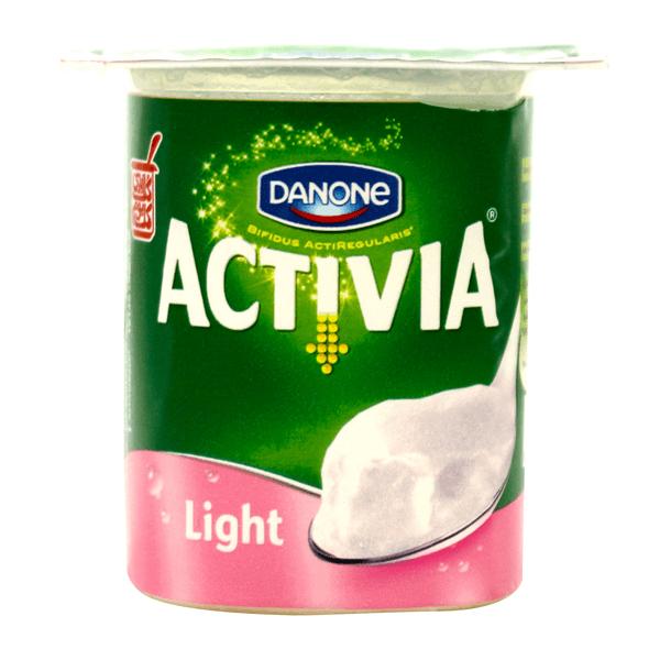 Danone Activia Light Plain Yogurt.