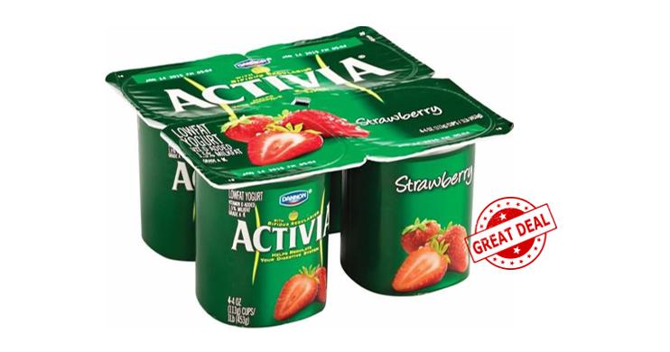 Publix Deal on Dannon Activia Yogurt 4pks * Coupon.
