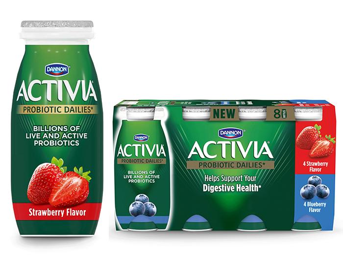 Dannon unveils Activia Dailies, a drinkable probiotic.