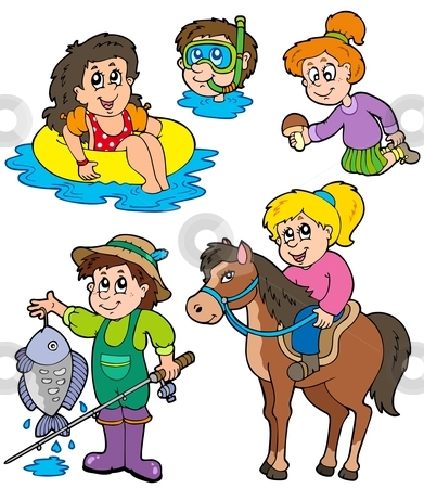 Activities Clipart.