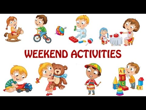 Kids Activities Clipart.