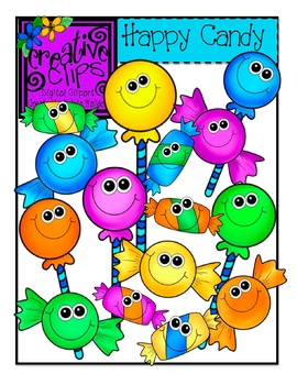 Happy Candy {Creative Clips Digital Clipart}.