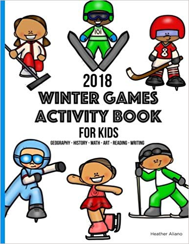 Winter Games Activity Book for Kids: Heather Aliano.