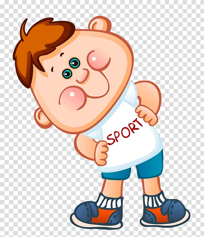 Sport Child Athlete Kindergarten Illustration, Activity.