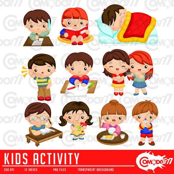 Activity Clipart, Activity Clip Art, Activity Png, Cute Kids.