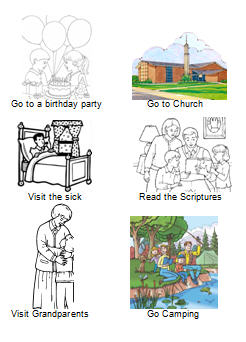 Lds Activity Day Clipart.