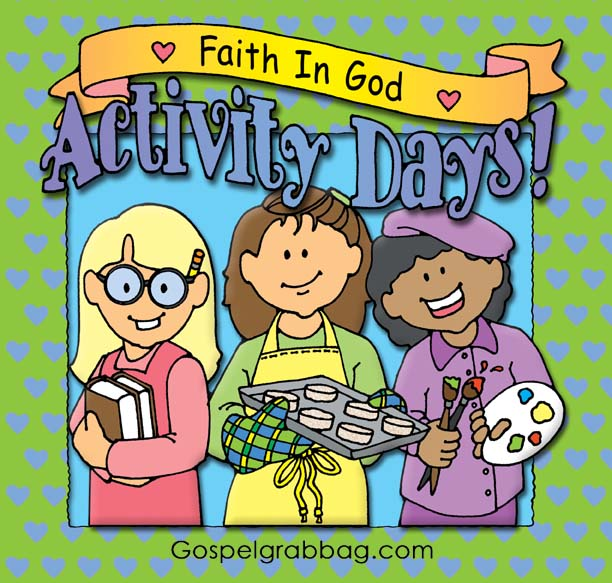 Watch more like Activity Day Girls Clip Art.