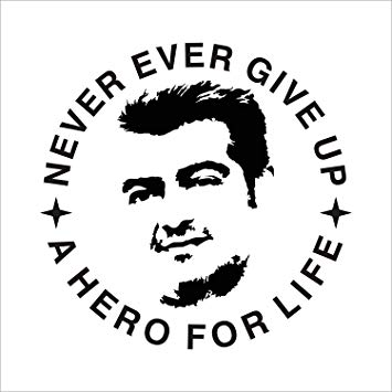 ISEE 360® Actor Ajith Logo for Royal Enfield Bullet Sticker.