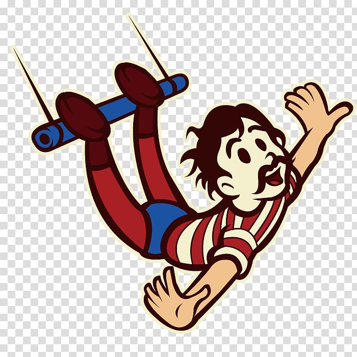Performance Cartoon Actor, Acrobatics Actor transparent.
