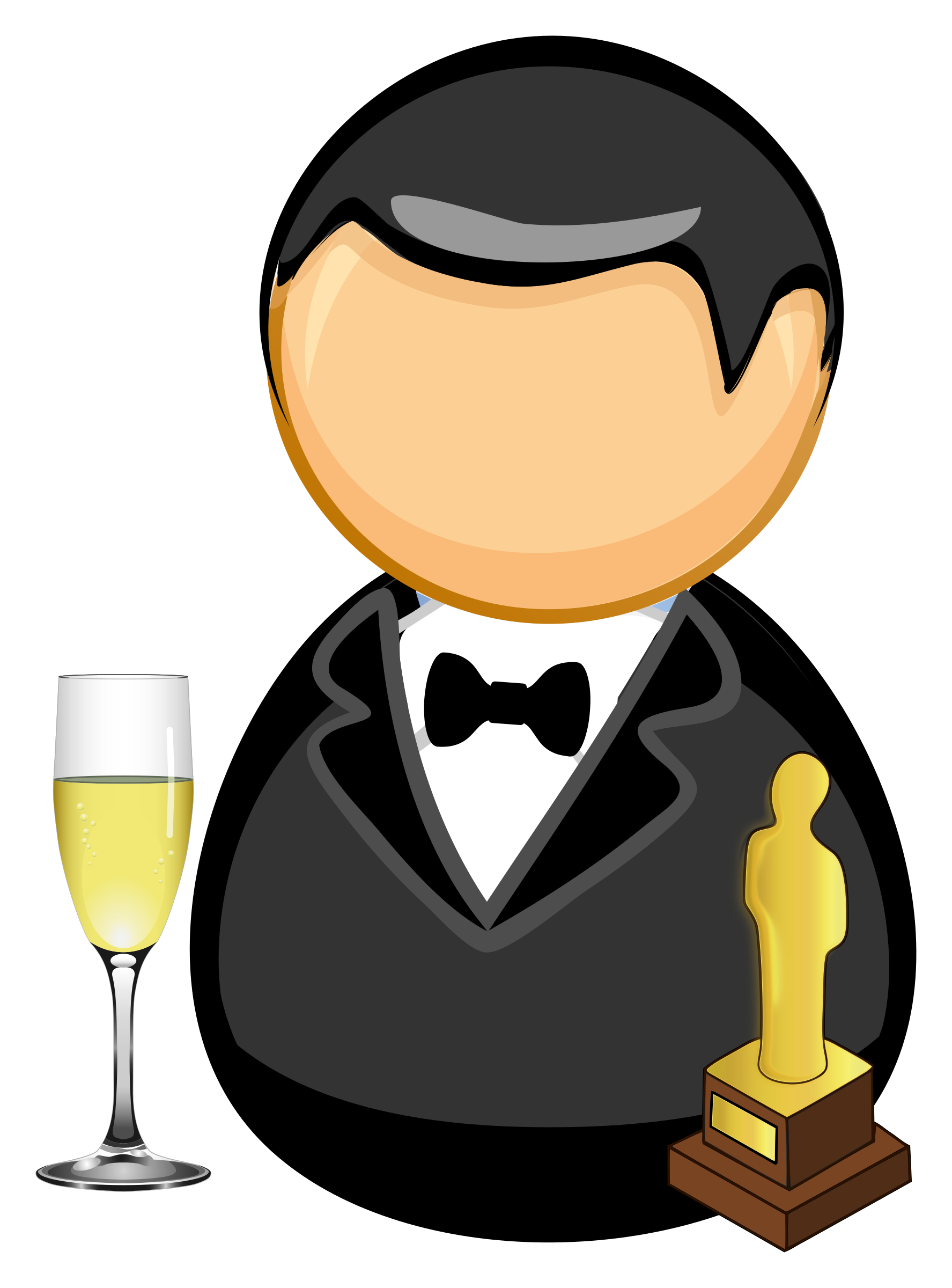 Movie clipart actor, Movie actor Transparent FREE for.
