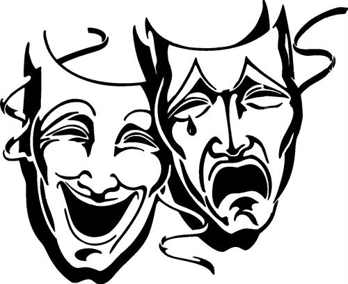 Acting Faces Free Download Clip Art.