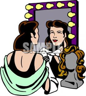 Clipart of actors and actress.