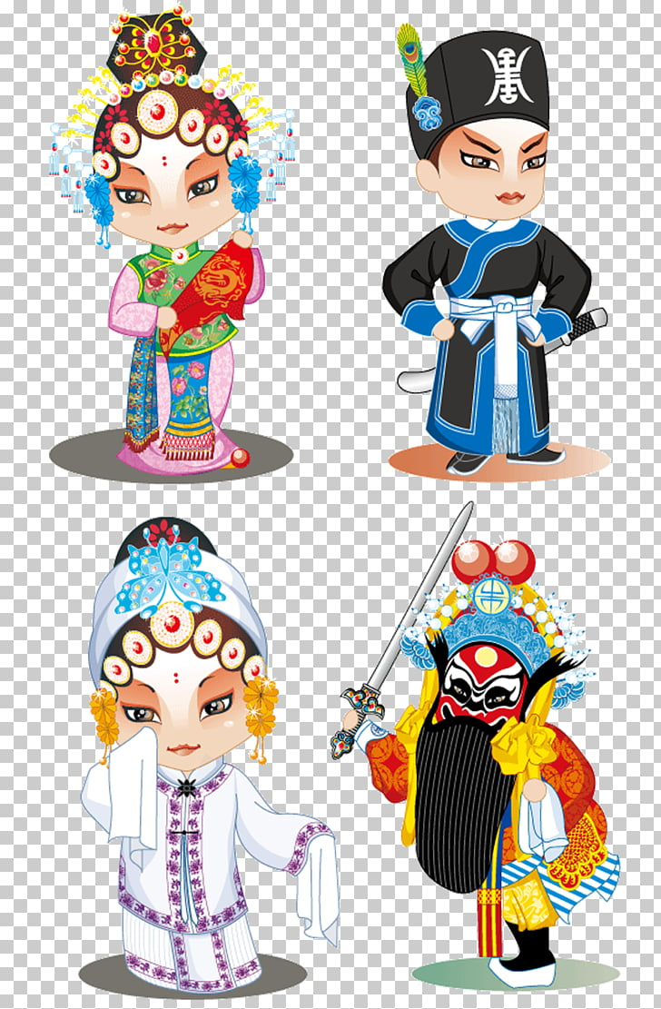 Peking opera Q.