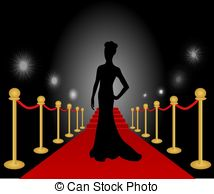 Actress red carpet clipart clipart images gallery for free.