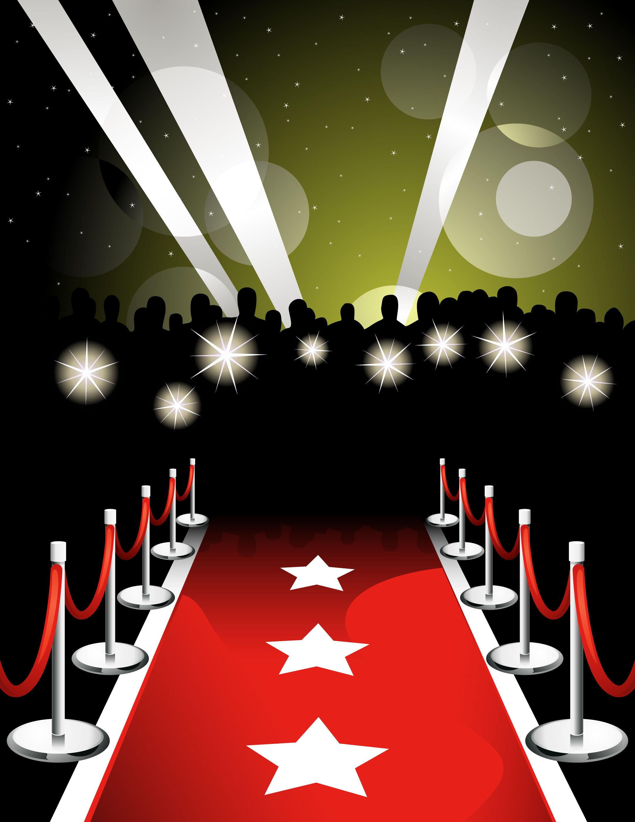 280 Red Carpet free clipart.