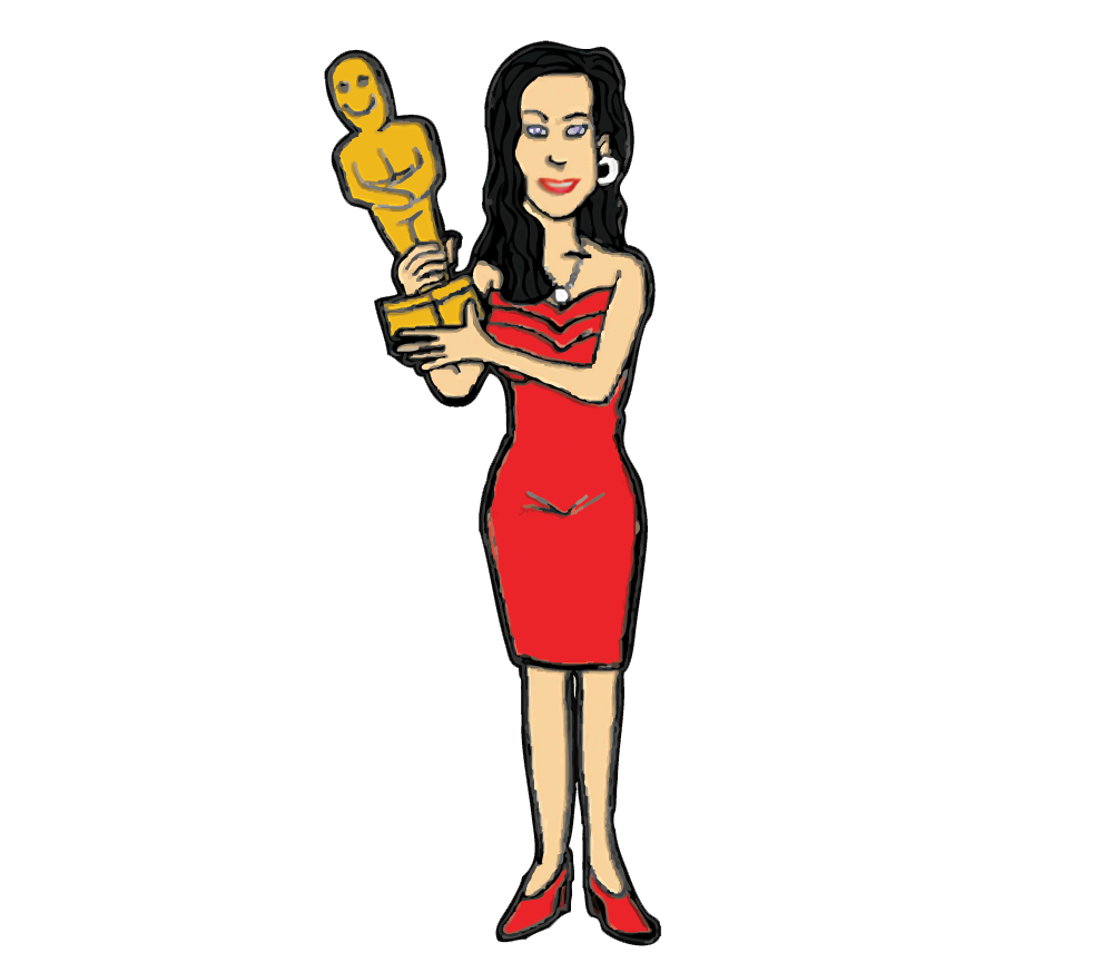 New hollywood actresses clipart.