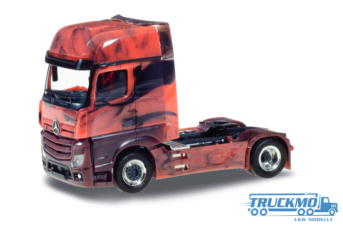 Herpa Marmor Edition Mercedes Benz Actros 18 GigaSpace.