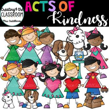 Acts of Kindness Clip Art Growing Bundle {Kid Clip Art}.
