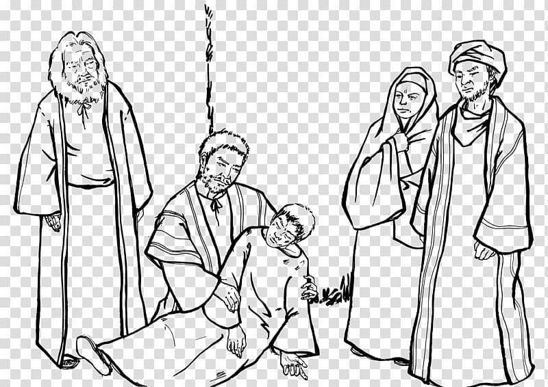 Acts of the Apostles New Testament , the old man who fell.