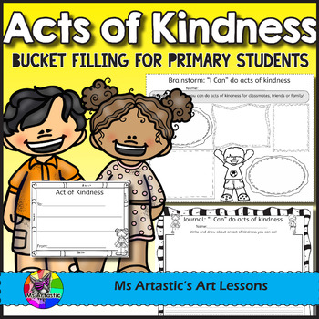 Acts of Kindness and Bucket Filling Activities.