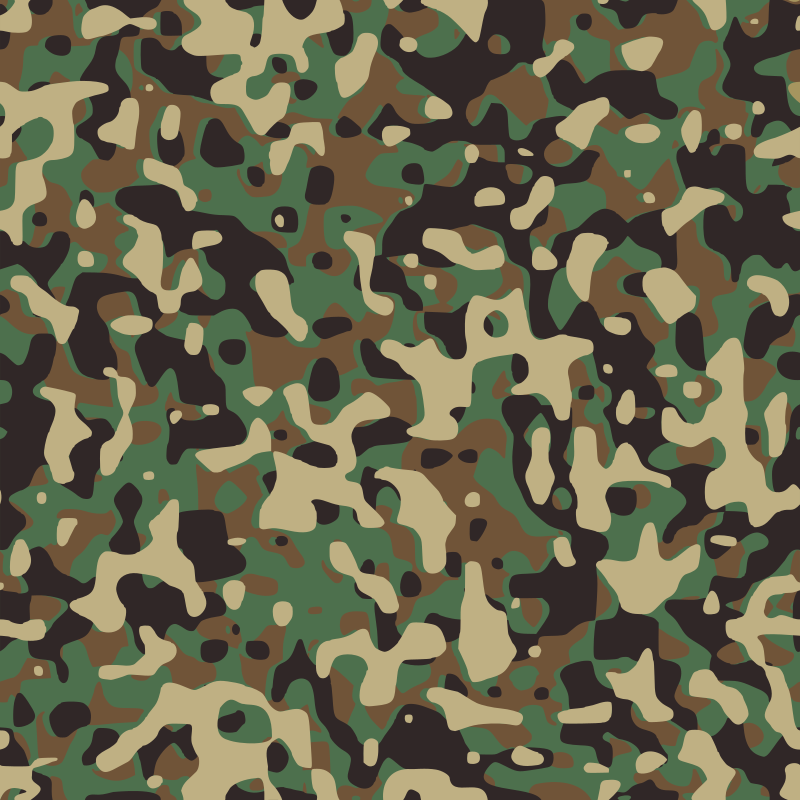 Army Camo Hat Clipart.