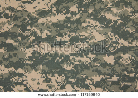 Us Army Acu Digital Camouflage Fabric Stock Photo 117159640.