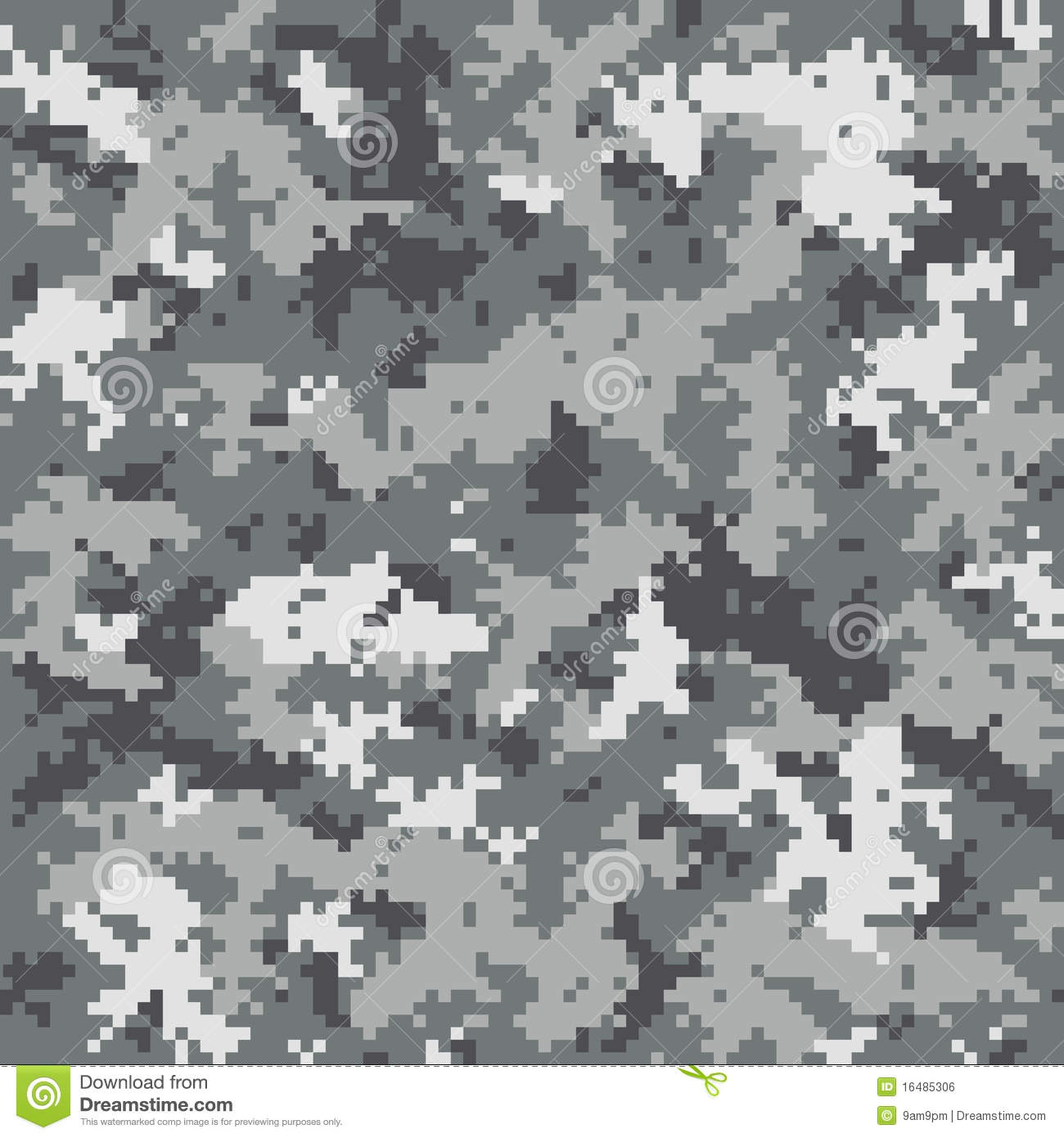 ACU Digital Camouflage Pattern Royalty Free Stock Images.