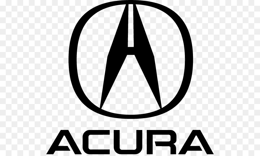 Acura Black And White png download.