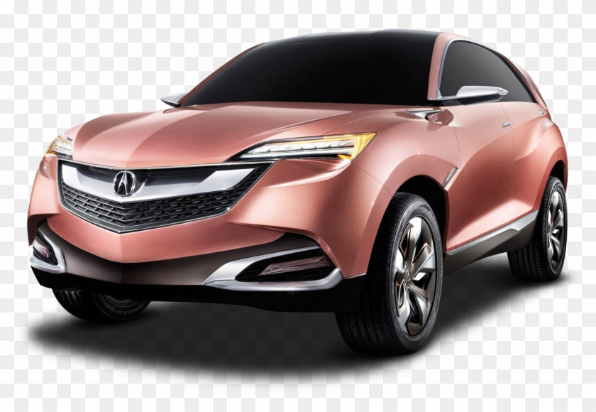 Acura Suv X Car Png Image.