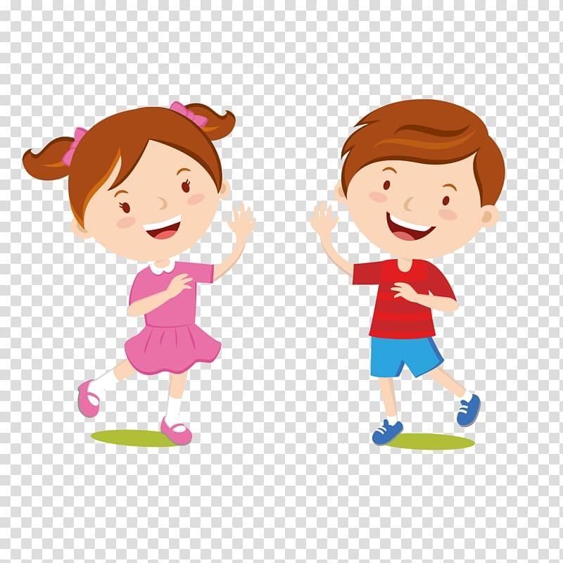 Children\'s clothing Dress Jeans, Cartoon kids welcome, girl.