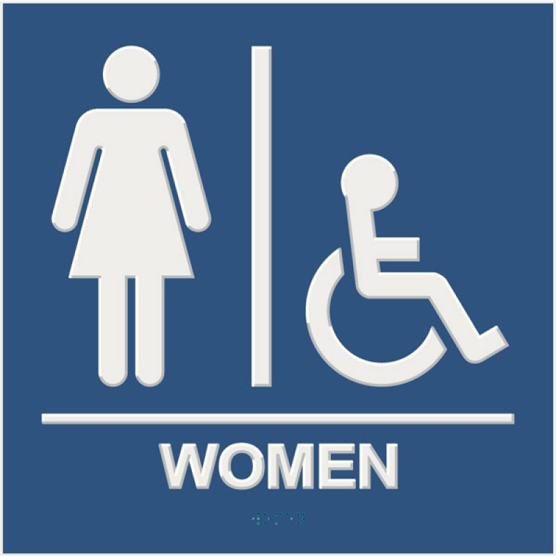 Men Restroom Symbol.