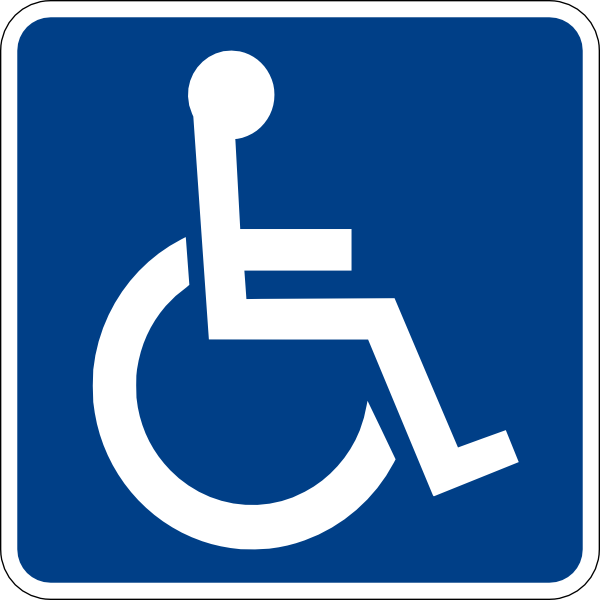 Handicap Signs.