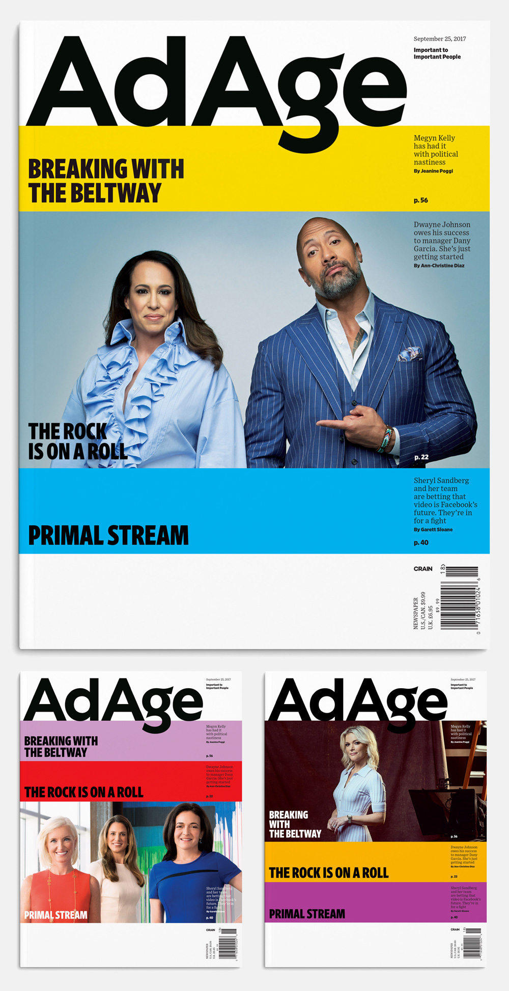 Brand New: New Logo and Identity for AdAge by OCD.